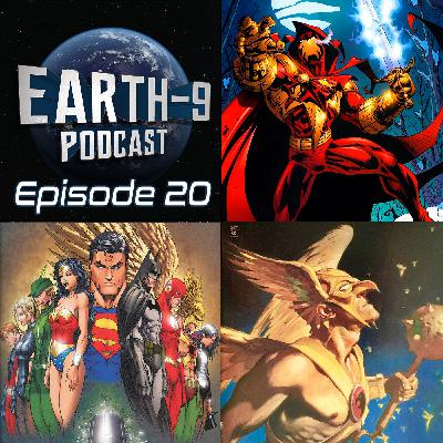 Earth-9 Podcast – Ep20 - Comicana Pt1