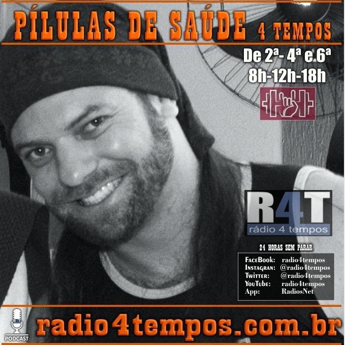 Rádio 4 Tempos - Pílulas de Saúde 117:Itazil Junior