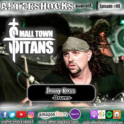 Aftershocks - Small Town Titans Drummer Jonny Ross