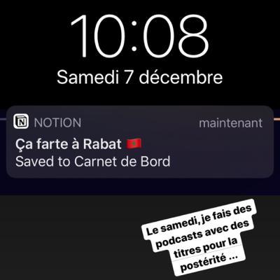 Ça farte à Rabat 🇲🇦