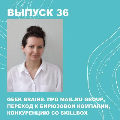 36. GeekBrains. Про mail.ru group, обороты в 2 млрд, переход к бирюзовой компании, конкуренцию со Skillbox