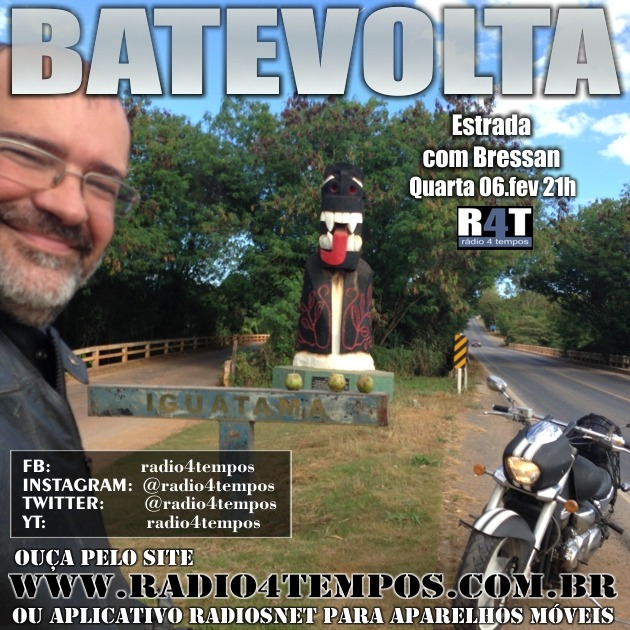 Rádio 4 Tempos - BateVolta 170:Rádio 4 Tempos