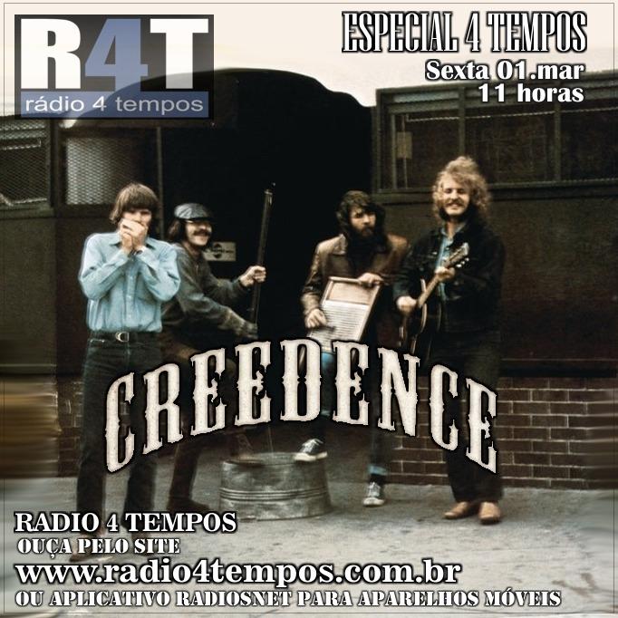 Rádio 4 Tempos - Especial 4 Tempos - Creedence