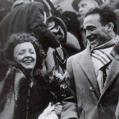 Edith Piaf et Marcel Cerdan : une histoire de rings, de scènes et de voyages