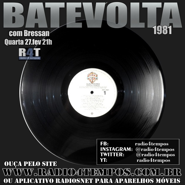 Rádio 4 Tempos - BateVolta 173:Rádio 4 Tempos