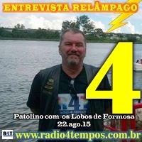 Rádio 4 Tempos - Entrevista Relâmpago 15