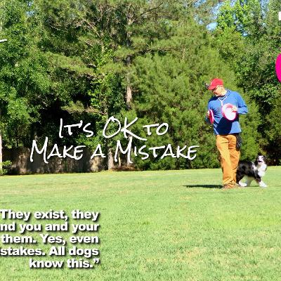 Tao of Disc Dog | It's OK to Make a Mistake