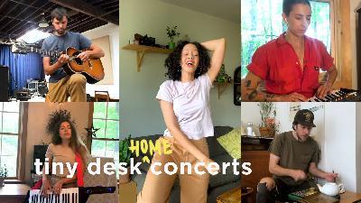 Dirty Projectors: Tiny Desk (Home) Concert