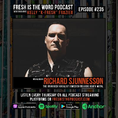 Episode #235: Richard Sjunnesson – Vocalist of Swedish Melodic Death Metal Band 'The Unguided', New Album Father Shadow via Napalm Records