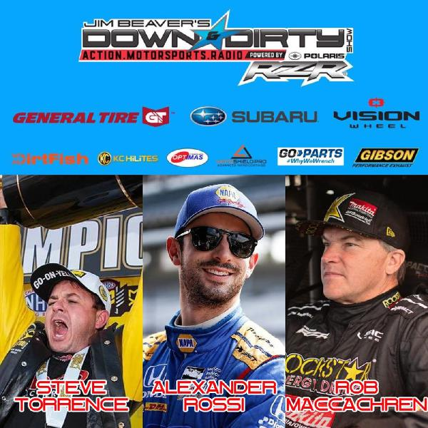 #360 – Alexander Rossi, Steve Torrence, & Rob MacCachren On Air!
