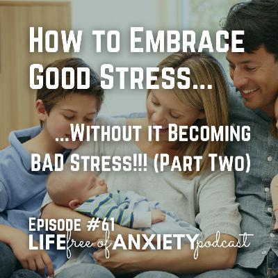 E061 - How to Embrace Good Stress... Without it Becoming BAD Stress!! (Part Two)