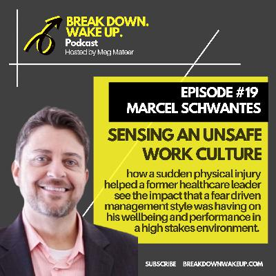 019 - Sensing an unsafe work culture with Marcel Schwantes