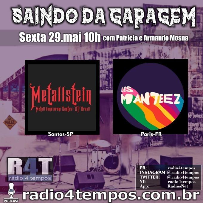 Rádio 4 Tempos - Saindo da Garagem 23:Rádio 4 Tempos