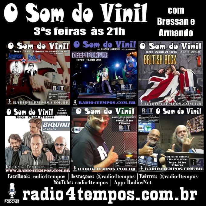 Rádio 4 Tempos - Som do Vinil 51:Flávio Bressan