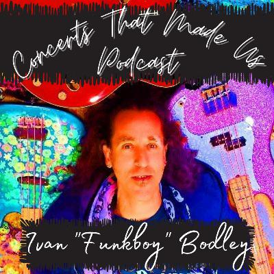Ivan Funkboy Bodley - Bassist/Music Director to the Stars
