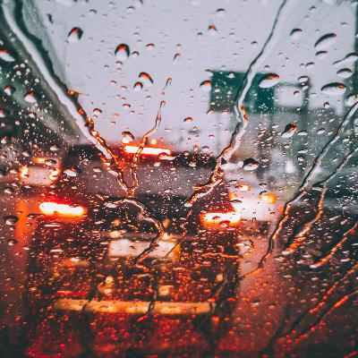 DRIVING IN THE RAIN / Sleepy Soundscape / Did you like this sound? Write, Yes or No in the comments.