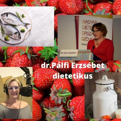 dr. Pálfi Erzsébet dietetikus