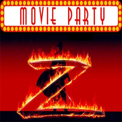 TPZP –Movie Party: The Mask of Zorro