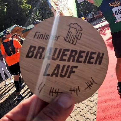 Besser als ne gute Marathonzeit ⌚: Ne geile Zeit beim Brauereienlauf 42K 🍻