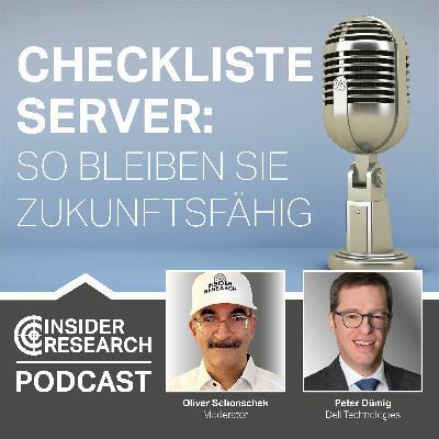 Checkliste Server: So bleiben Sie zukunftsfähig, mit Peter Dümig von Dell Technologies
