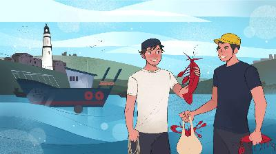 Live Episode! Luke's Lobster: Luke Holden and Ben Conniff