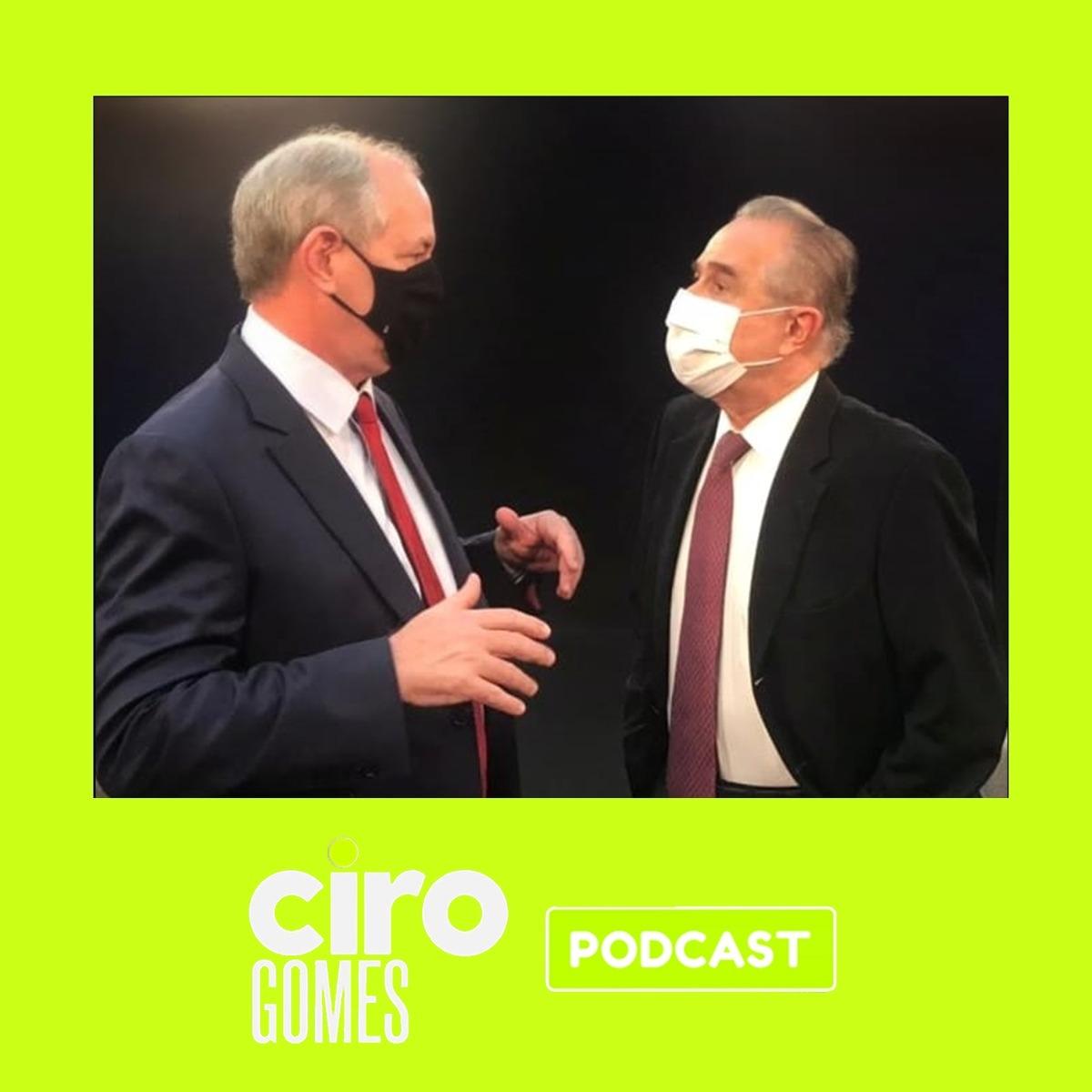 13/07/2021 | Entrevista de Ciro Gomes ao vivo, para Roberto D'Ávila #CiroNaGloboNews