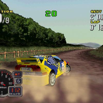 Bonus Stage: Rally Challenge 2000