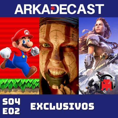Arkade Cast 09 - Exclusivos