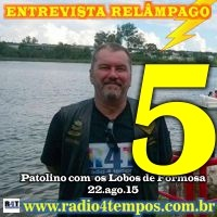Rádio 4 Tempos - Entrevista Relâmpago 16