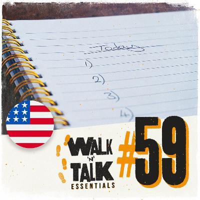 Walk 'n' Talk Essentials #59 - Lista de tarefas