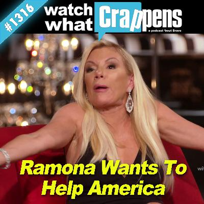 RHONY: Ramona Wants To Help America