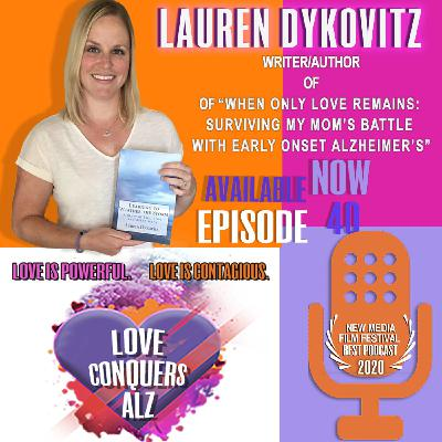 LAUREN DYKOVITZ: Life interrupted - The Challenges of Being a Millennial Caregiver