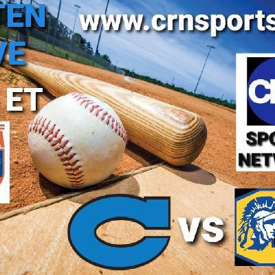 NCHSAA Varsity Non-Conference Baseball Clayton Comets vs Garner Magnet Trojans! #CRNSports #cometsALLin ⚾️🎙☄