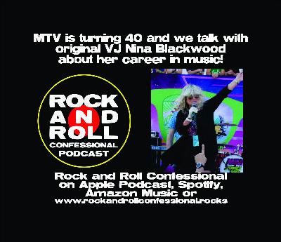 MTV is celebrating 40 years next month and we are speaking to original VJ Nina Blackwood