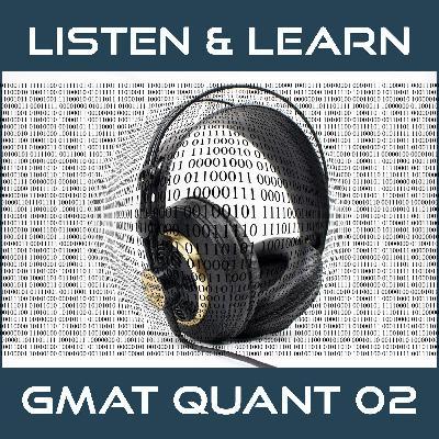 GMAT Quant 02 | Number Properties Questions | GMAT Sample Questions