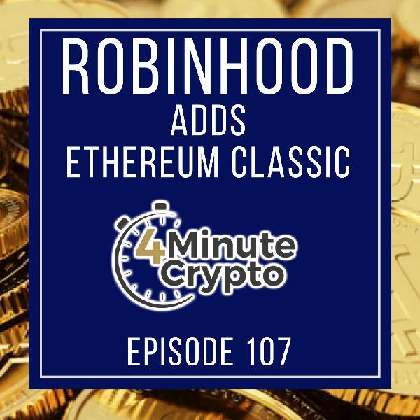 Ethereum Classic Listed on Robinhood