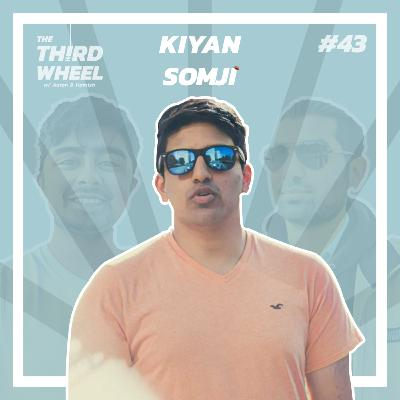 #43 ft. Kiyan Somji - Producing, Writing and Creating Music, Finding your Sound & Streaming on DLive