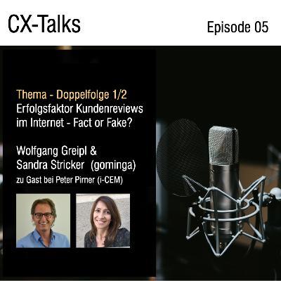#05 Erfolgsfaktor Kundenreviews im Internet mit Wolfgang Greipl, Sandra Stricker (gominga) & Peter Pirner
