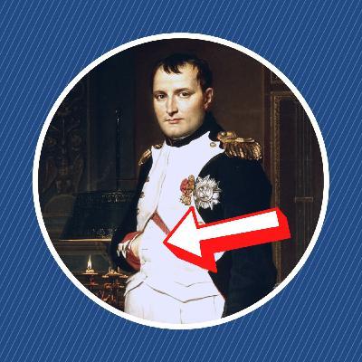 Pourquoi Napoléon plaçait-il sa main dans son gilet ?