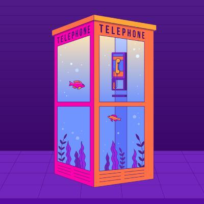تلفن عمومی