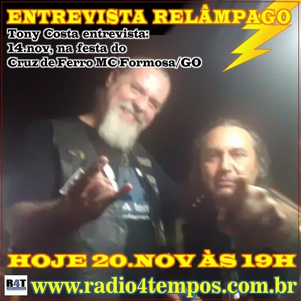 Rádio 4 Tempos - Entrevista Relâmpago 12