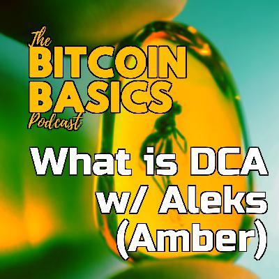 What is DCA w/ Aleks (Amber) | Bitcoin Basics (71)