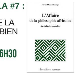 Les Goûters de Karthala #7 : Autour de Fabien Eboussi Boulaga