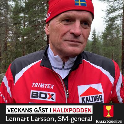 Lennart Larsson, SM-general
