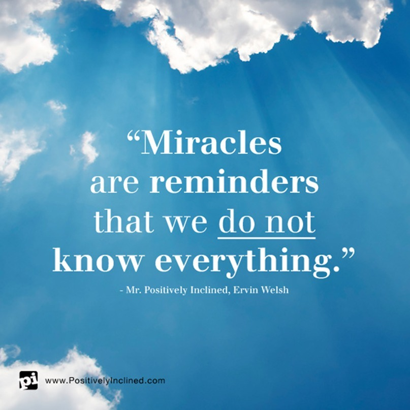 Working of Miracles, Allan Yoder