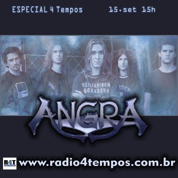 Rádio 4 Tempos - Especial 4 Tempos - Angra
