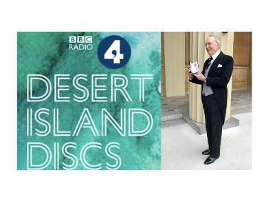Desert Island Discs with Charles Gething Lewis MBE
