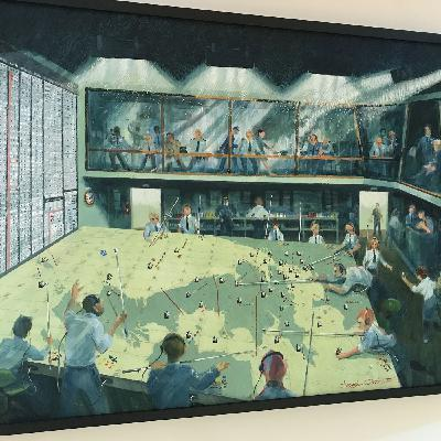The Artist ( Angels Three Zero ) Bentley Priory - Defending Britain from Nazi & Nuclear Threat