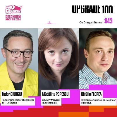 #43 HBO GO, NETFLIX, TIFF Unlimited vs. TV și Cinema. Câți români consumă filme online, legal - de la artistice la 18+? Ce va urma?