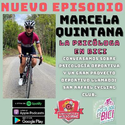 La psicóloga en bici